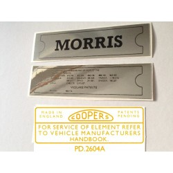 ADO16 Morris 1100 1300 Sticker Pack 1