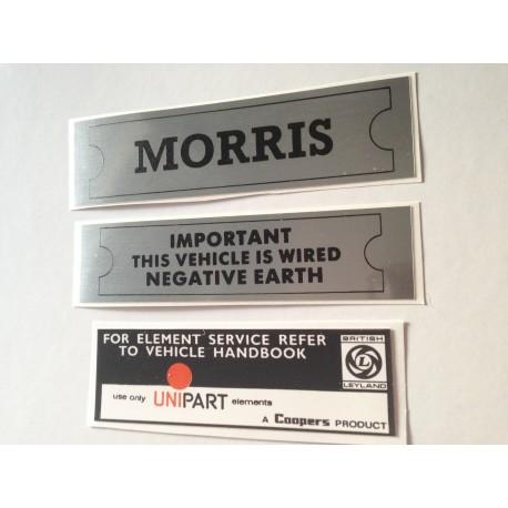 ADO16 Morris 1100 1300 Sticker Pack 3