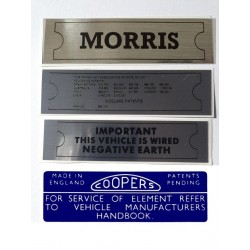 ADO16 Morris 1100 1300 Sticker Pack 5