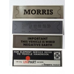 ADO16 Morris 1100 1300 Sticker Pack 6