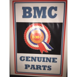 BMC Genuine Parts Wall Sign Canvas Art