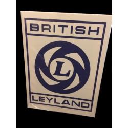 British Leyland Wall Sign Canvas Art