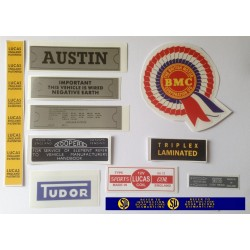 ADO16 Austin 1100 1300 Sticker Pack 8