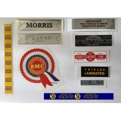 ADO16 Morris 1100 1300 Sticker Pack 7
