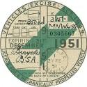 1950's Replica Tax Discs